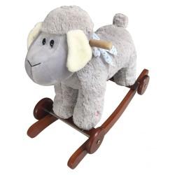 Owieczka Ania na biegunach z kołami
