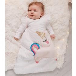 Bizzi Growin Śpiworek niemowlęcy do spania Jednorożec 2.5 TOG rozmiar 6-18 m