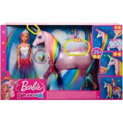 Barbie Jednorożec Magia świateł