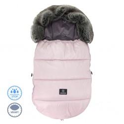 Ciepły śpiworek do wózka 0-18 miesięcy - Powder Pink