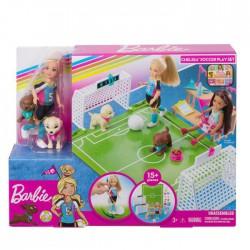 Barbie Chelsea Boisko do piłki nożnej Zestaw