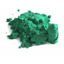 Piasek kinetyczny 2 kg zielony - polski piasek