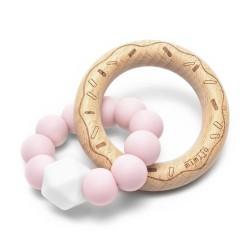 Gryzak donut różowy