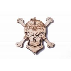 WoodTrick Puzzle mechaniczna czaszka