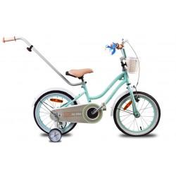 """Rowerek dla dzieci 14"""" Heart bike - miętowy"""