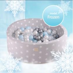 Suchy basen dla dziecka 90x40 cm + 250 piłek - Frozen