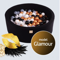 Suchy basen dla dziecka 90x40 cm + 250 piłek - Glamour