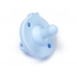 Smoczek silikonowy niebieski