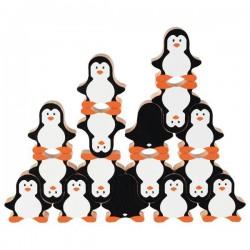 Gra i układanka pingwinki