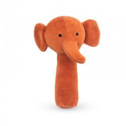 Jollein - miękka grzechotka Elephant Rust