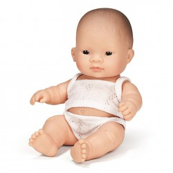 Lalka chłopiec Azjata 21cm