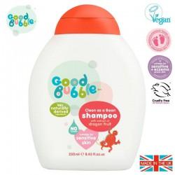 Good Bubble Organiczny szampon wegański dla Noworodka i Niemowlaka Dragon Fruit / Pitaya 250 ml