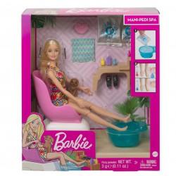 Barbie Mani-pedi Spa Zestaw do zabawy
