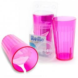 Reflo kubek treningowy dla dziecka różowy