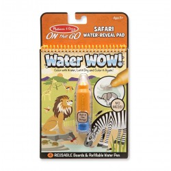 Zestaw 48 sztuk Malowanka Safari WaterWOW -10%