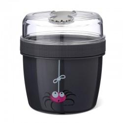 Carl Oscar- N'ice Cup™ L Pojemnik śniadaniowy z wkładem chłodzący Grey - Spider