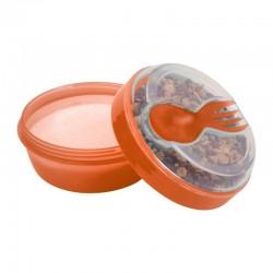 Carl Oscar- N'ice Cup™ Pojemnik śniadaniowy z wkładem chłodzący Orange - Moose