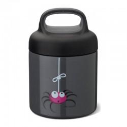 Carl Oscar TEMP Lunch Jar - Termos ze szlachetnej stali nierdzewnej 0.3 L Grey - Spider