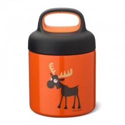 Carl Oscar TEMP Lunch Jar - Termos ze szlachetnej stali nierdzewnej 0.3 L Orange - Moose
