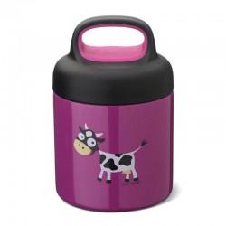 Carl Oscar TEMP Lunch Jar - Termos ze szlachetnej stali nierdzewnej 0.3 L Purple - Cow