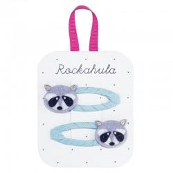 Rockahula Kids - spinki do włosów Ronnie Racoon