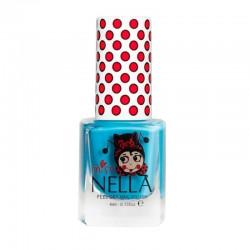 MISS NELLA - Bezzapachowy lakier do paznokci dla dzieci PEEL OFF Mermaid Blue