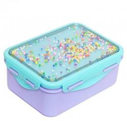 Petit Monkey - Śniadaniówka Lunchbox POPSICLES Wild Lilac