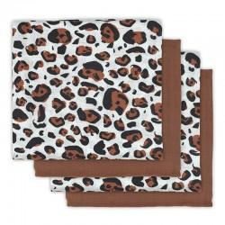 Jollein - 4 pieluszki niemowlęce Hydrophlic 70 x 70 cm Leopard natural