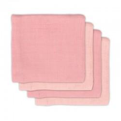 Jollein - 4 pieluszki bambusowe 70 x 70 cm Pale Pink