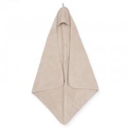 Jollein - Ręcznik kąpielowy z kapturem 75 x 75 cm FROTTE NOUGAT