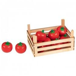 Pomidorki w skrzynce