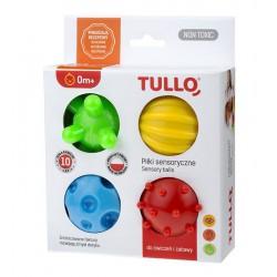 Piłki sensoryczne 4 szt.