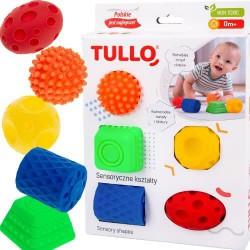 Kształty sensoryczne 5 sztuk - Tullo