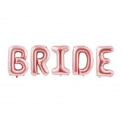 Balon foliowy Bride, 280x86cm, różowe złoto (1 karton / 50 szt.)