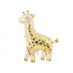 Balon foliowy Żyrafa, 80x102cm, mix