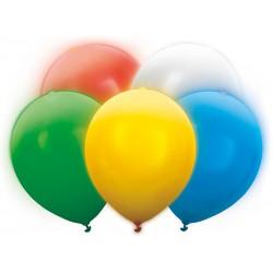 Balony Led 30cm, mix (1 op. / 5 szt.)