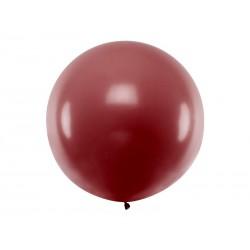 Balon okrągły 1m, Pastel Burgundy