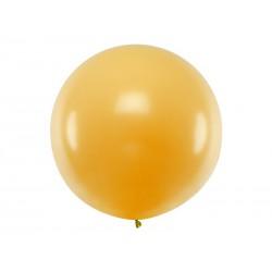Balon okrągły 1m, Metallic Gold