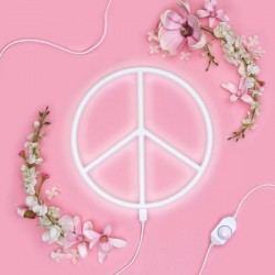 A Little Lovely Company - Neon świetlny PEACE