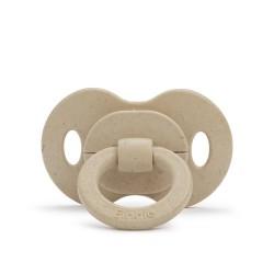 Elodie Details - Smoczek bambusowy silikonowy 3m+ - Pure Khaki