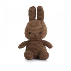 Miffy - Corduroy BROWN przytulanka 23 cm