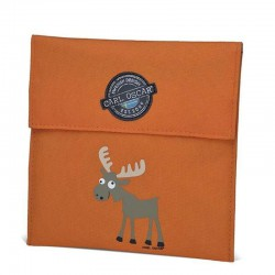 Carl Oscar Pack'n'Snack Sandwich Bag torebka termiczna na kanapki Orange - Moose