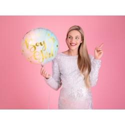 Balon foliowy Boy or Girl, 35cm, mix