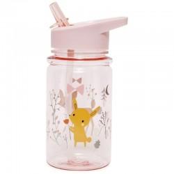 Petit Monkey - butelka/bidon ze słomką, Przyjaciele z lasu, Sarenka