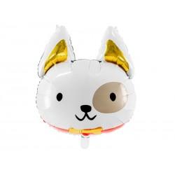 Balon foliowy Pies, 56x65 cm, mix (1 karton / 50 szt.)