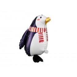 Balon foliowy Pingwin, 29x42cm, mix (1 karton / 50 szt.)