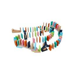 Kolorowe Domino Adam Toys