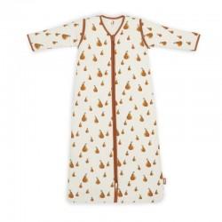 Jollein - Śpiworek niemowlęcy całoroczny 4 pory roku z odpinanymi rękawami Pear 90 cm