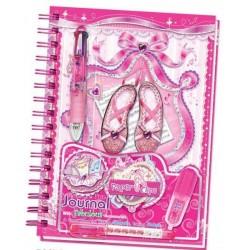 Kreatywny zeszyt Baletnica pamiętnik + długopis