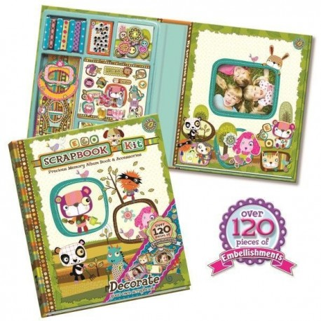 Scrapbook EcoSnoopers - album do scrapbookingu